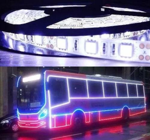 fita de led 5050 24v ip65 provadagua ônibus caminhão carreta