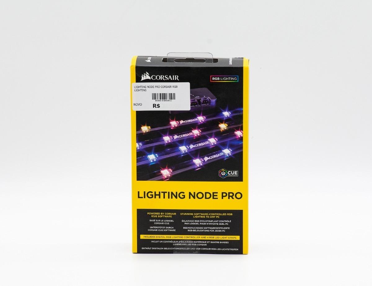 Fita De Led Corsair Rgb Lighting Node Pro