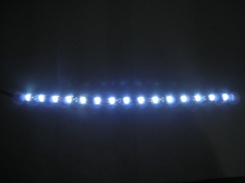 fita de led farol carro  alto brilho 30cm 12led-frete gratis
