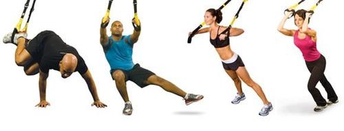 fita de suspensão treinamento suspenso trx funcional pilates
