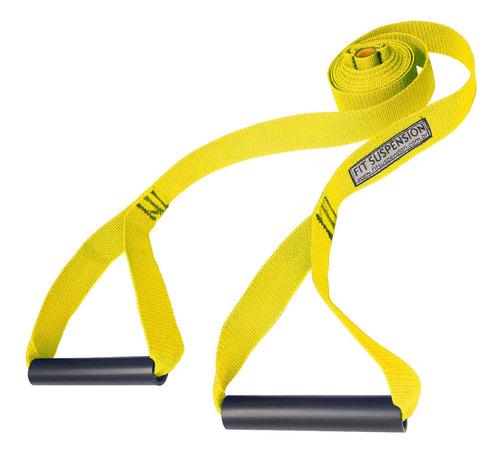 fita de treinamento suspenso simples com capacidade de 140kg
