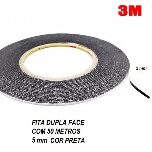 Fita Dupla Face 50m 5mm Marca 3m Celular Smartphone Tablets - R  13,50 em  Mercado Livre 91a840cc06