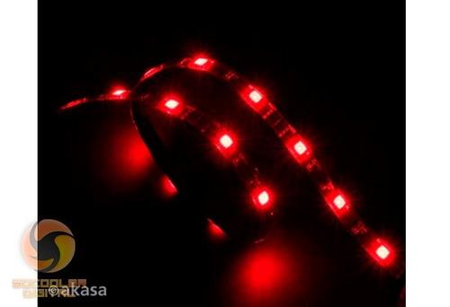 fita flexível de led vegas m - cor vermelha - akasa