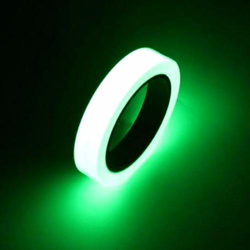 fita fluorescente festa teto brilha neon decoração rolo 10m