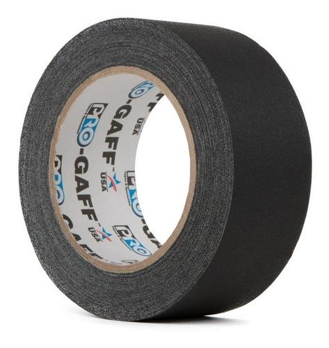 fita gaffer tape progaff 100% algodão fosca 48mm x50mts