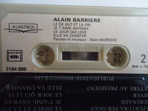 fita k7 alain barriere - serenate et tragèdie (box 5)