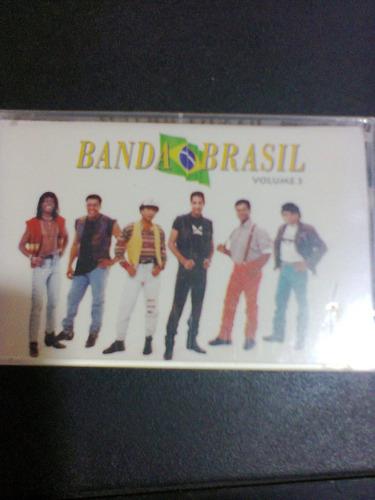 fita k7 banda brasil vol.3 lacrada