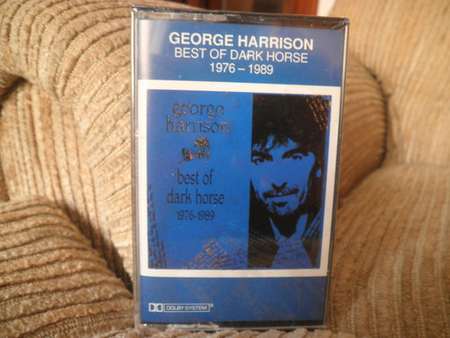 fita k7 cassete george harrison best of dark horse 1976 1989