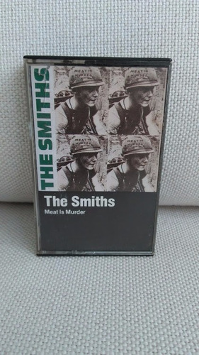 fita k7 cassete the smiths meat is murder importada raridade