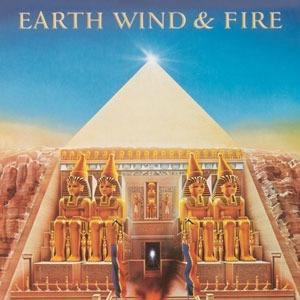 fita k7-earth,wind e fire-all´n all