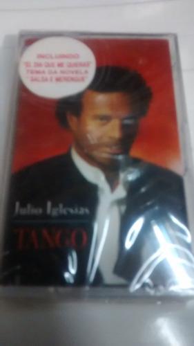 fita k7 julio iglesias tango