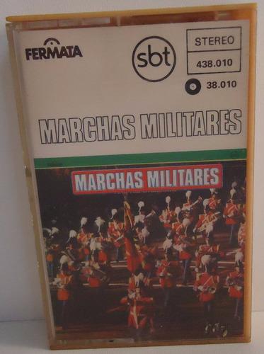 fita k7 marchas militares - by trekus vintage (box 5)