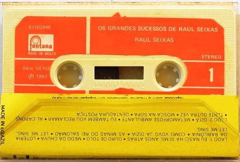 fita k7: os grandes sucessos de raul seixas - 1993
