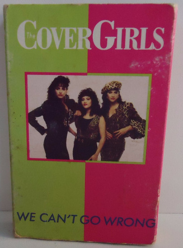 fita k7 the cover girls - we can´t go wrong (box 4)