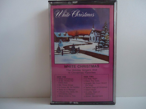 fita k7 white christmas - by trekus vintage (box 4)