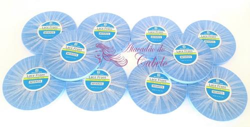 fita lace front azul 36 metros - walker tape - mega promoção