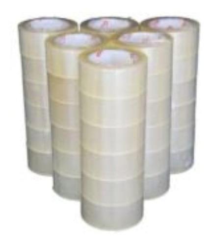 fita larga 06 unidades durex 48mmx100 transparente adesivas
