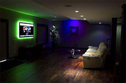fita led 5 metros decora o quarto bebe sala carro aquario. Black Bedroom Furniture Sets. Home Design Ideas