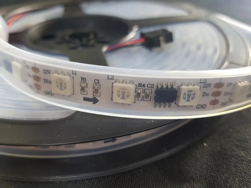 fita led endereçável 5 metro mod. 2811 12 volts 300leds ip67