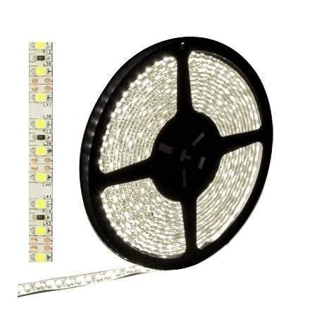 fita led strips smd 5050 12v 60 leds p/metro white rolo 5m
