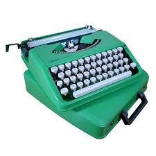 fita p/ maq. escrever olivetti lettera com 82 dois carretéis