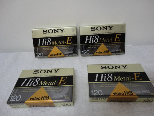 fita para camera hi8 metal 120_e sony  120p_nova lacrada