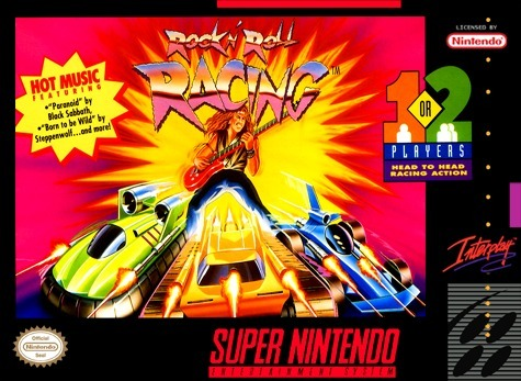 Rock and Roll Racing Super Nintendo