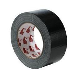 fita silver tape preta 50mm x 50m - produzido na inglaterra
