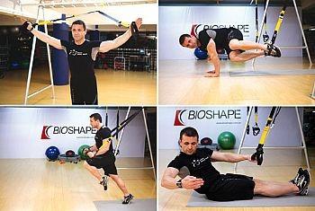 fita treinamento top suspension profissional bioshape + dvd