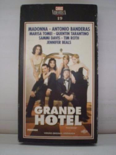 fita vhs grande hotel madonna