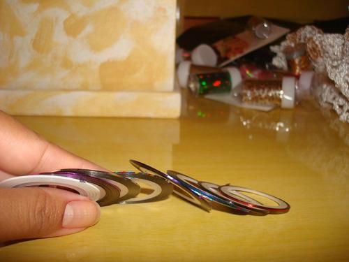 fitas para decoração unhas