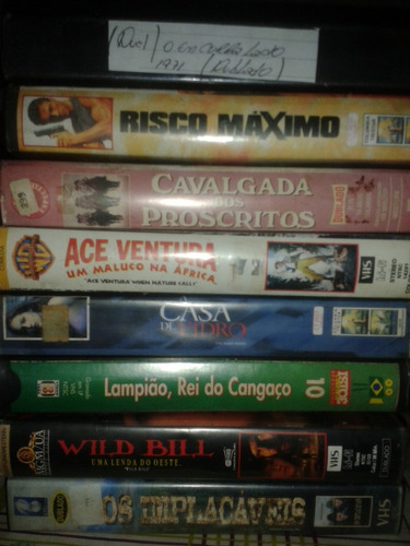 fitas video vhs