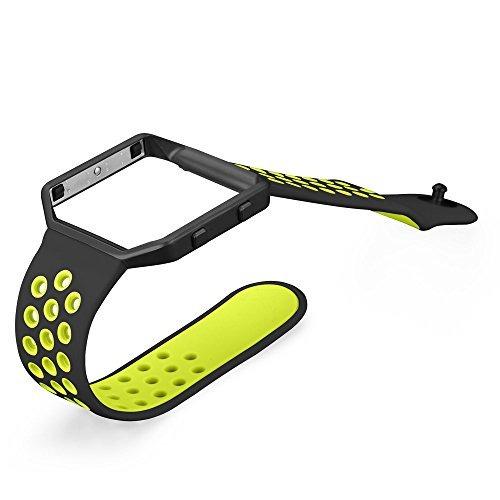 fitbit blaze bandas, umtele sport silicone replacement strap