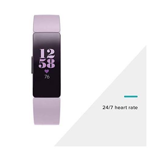 fitbit monitor inspire hr, color lila reloj 3839