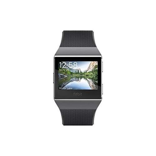 fitbit monitor ionic, color azul/gris/blanco reloj 7198
