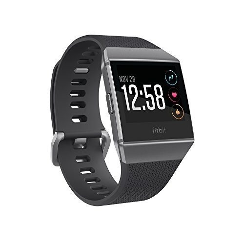 fitbit monitor ionic, color gris reloj 7198