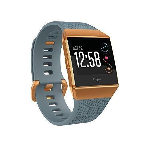 fitbit monitor ionic, color naranja/azul 8798 reloj