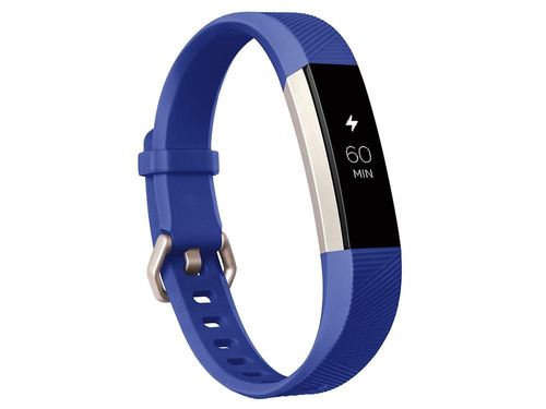 fitbit smart fitness ace stainless steel electric blue
