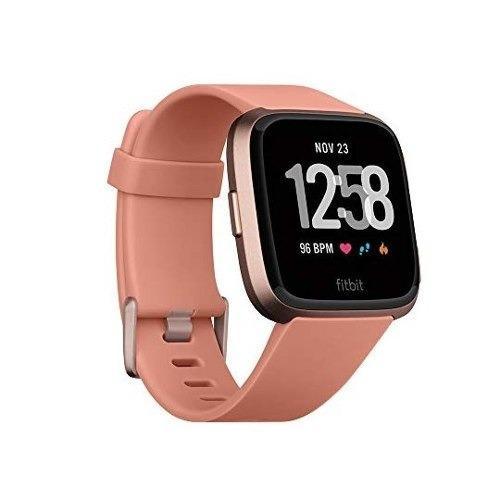 fitbit smartwatch versa, color oro, rosa, aluminio reloj 62