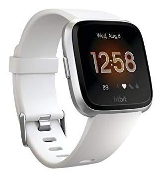 fitbit smartwatch versa lite, color blanco