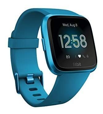fitbit smartwatch versa lite marina, color azul