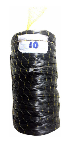 fitilho de rafia para amarração preto - 8 kg / frete grátis