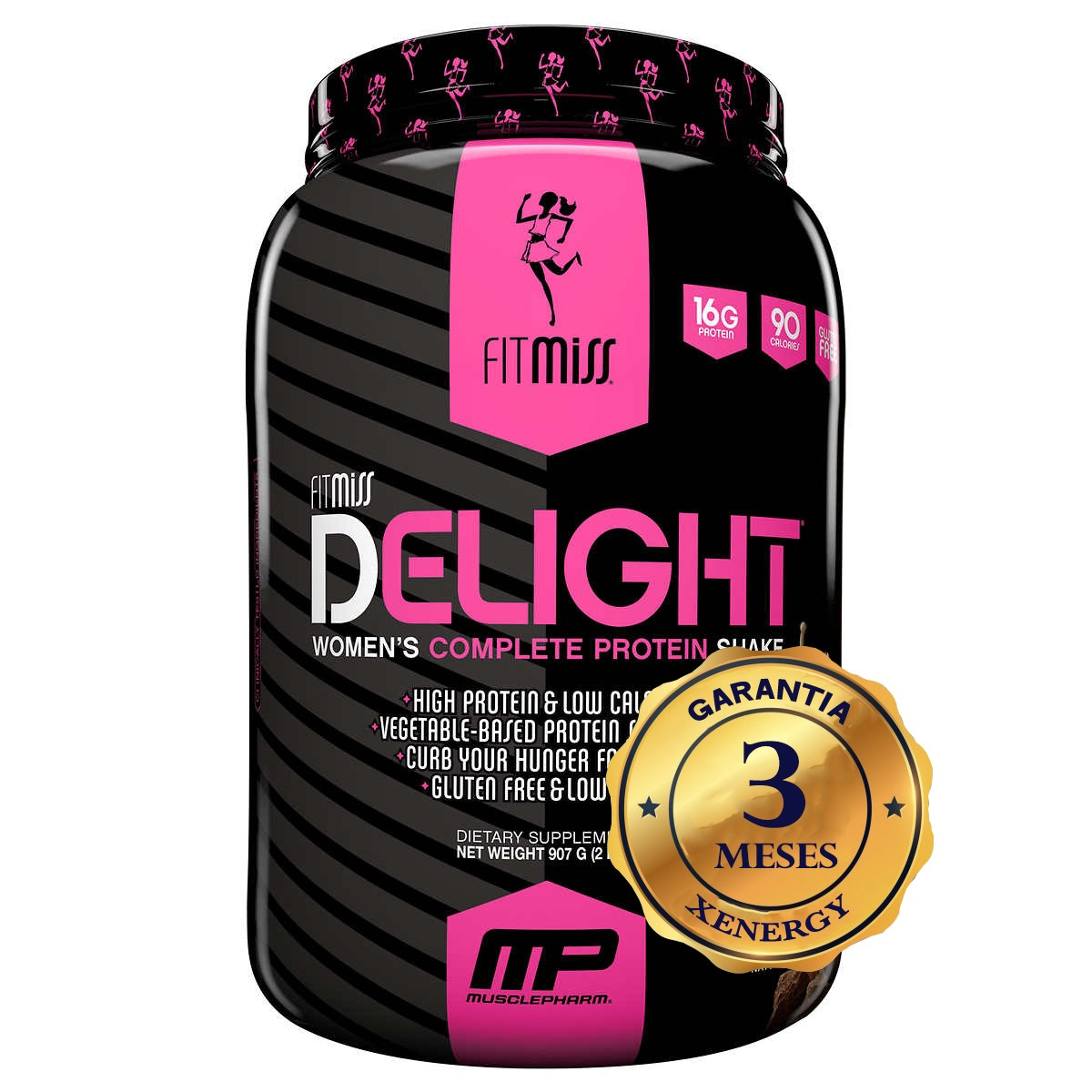 Fitmiss Delight 2 Libras Proteina Suplemento Mujer Fitness