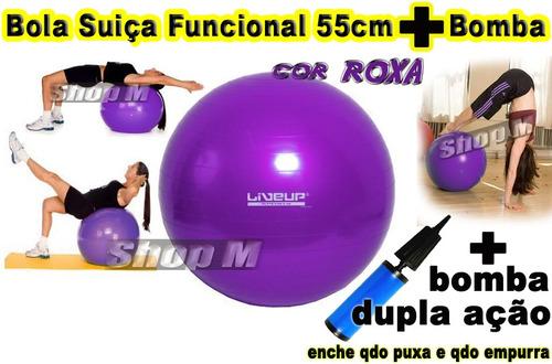 fitness ação bola suiça