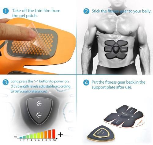 fitness gear koogeek, tonificador muscular weareable