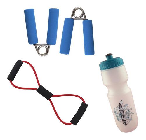 fitness musculação elastico extensor