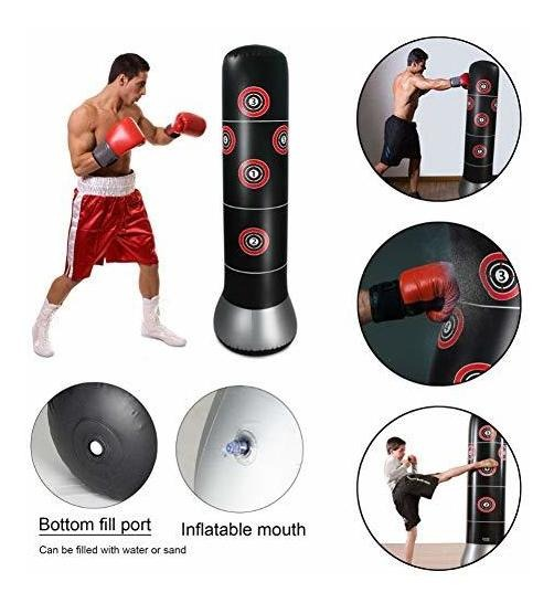 Fitness Punching Bag Heavy Inflatable
