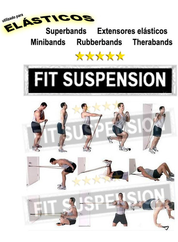 fitness resistance bandas de exercício porta ancorador