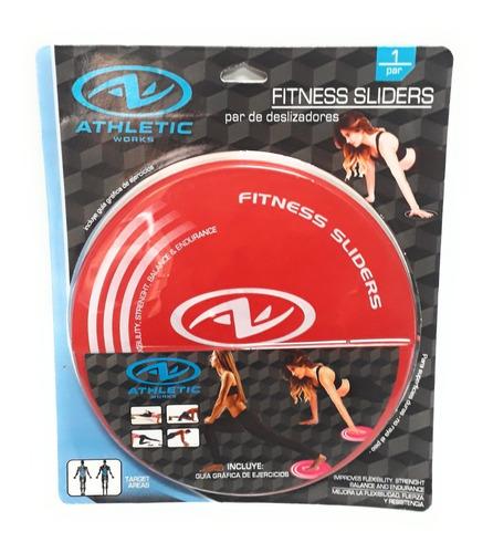 fitness sliders deslizadores athletic works colors enviofull