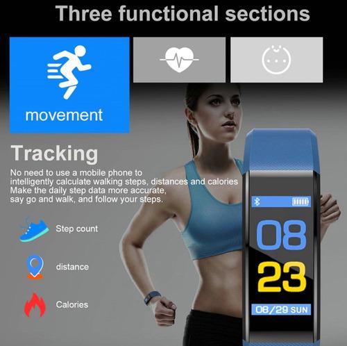 fitness tracker smartwatch deportivo ip67